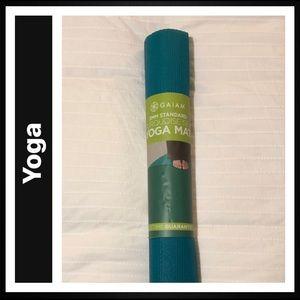 Gaiam Print Yoga Mat, Turquoise, 3mm